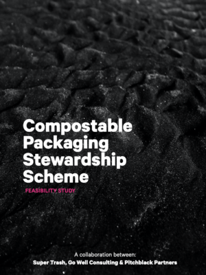 Compostable Packaging Stewardship Scheme - Feasibility Study_Front page